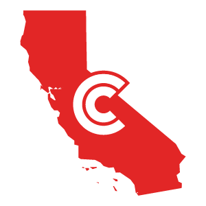 California Diminished Value State Icon