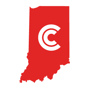 Indiana Diminished Value State Icon