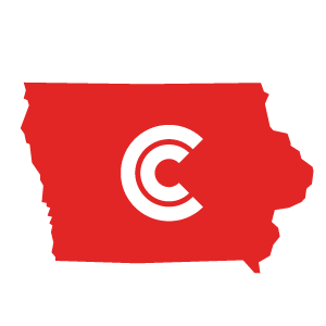 Iowa Diminished Value State Icon