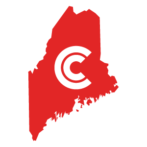 Maine Diminished Value State Icon