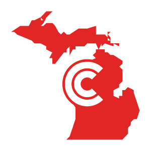 Michigan Diminished Value State Icon