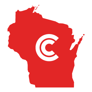 Wisconsin Diminished Value State Icon